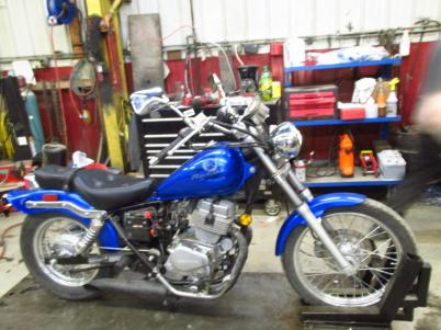 NEW-96-16 Honda Rebel CMX 250
