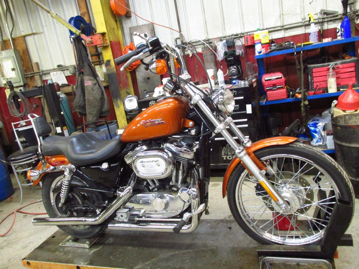 1994 1995 /& 1996 Harley Davidson Sportster 883 /& 1200 Battery Tray Holder Box